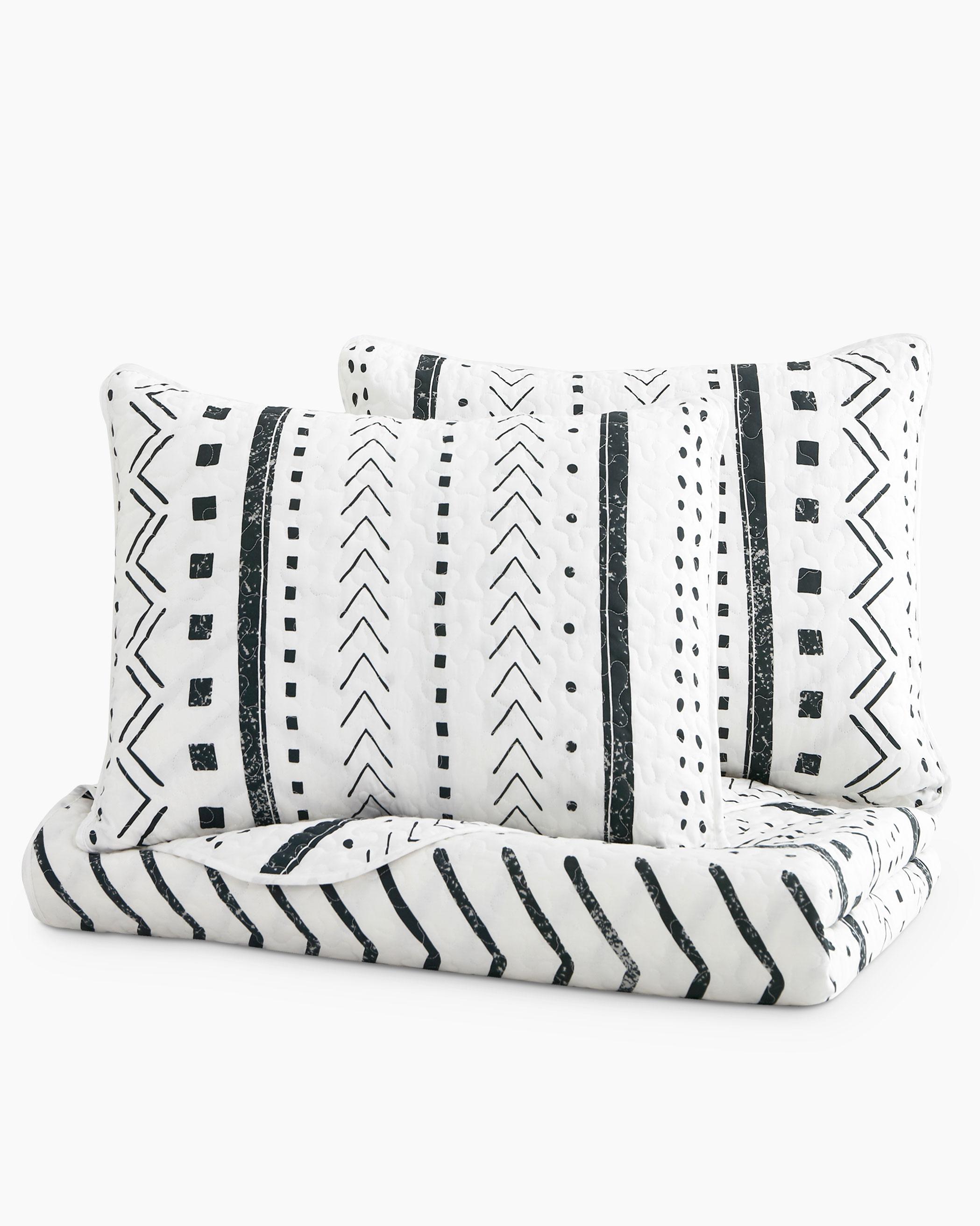 Aztec Cotton Quilt Set