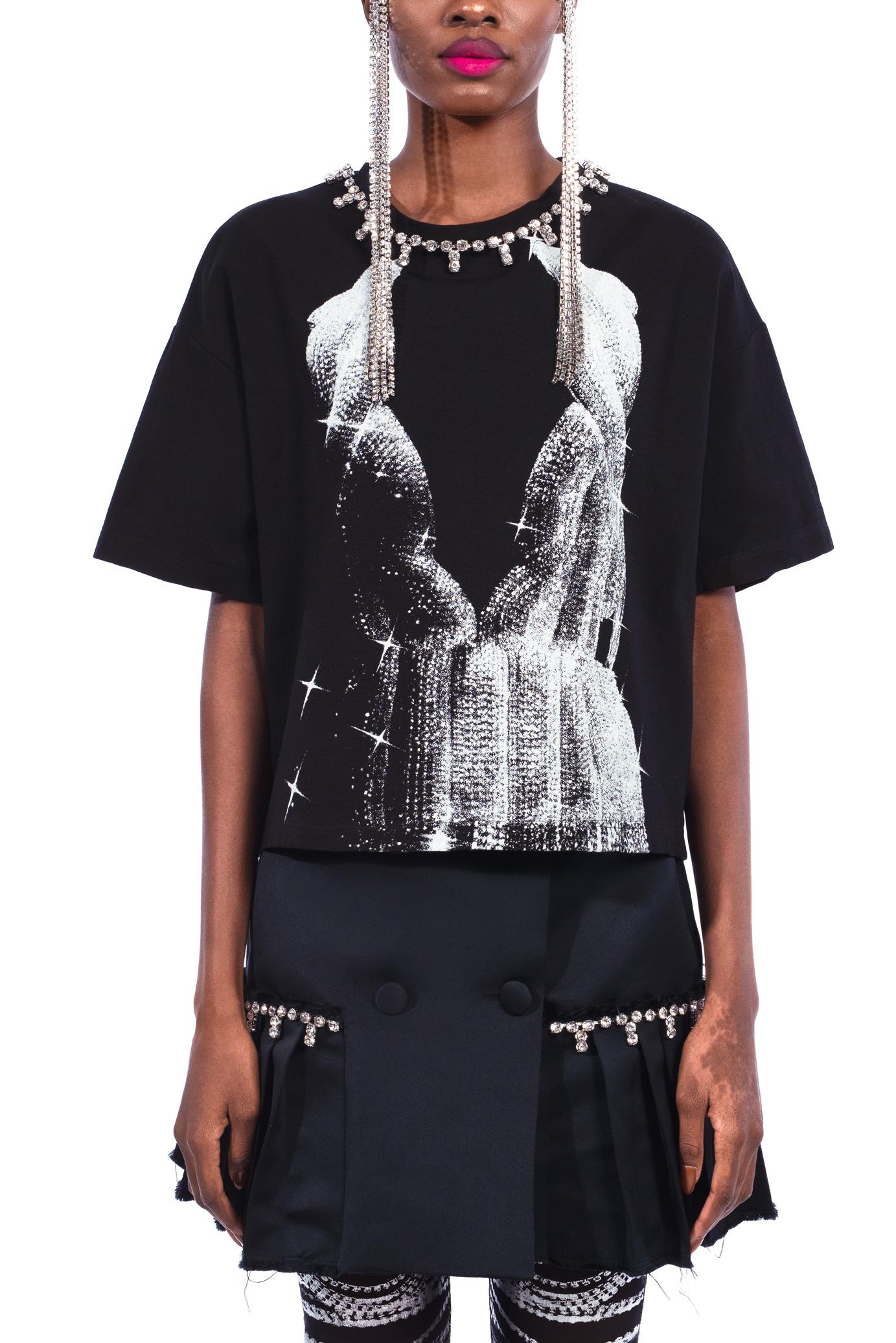 Printed Crystal T-shirt