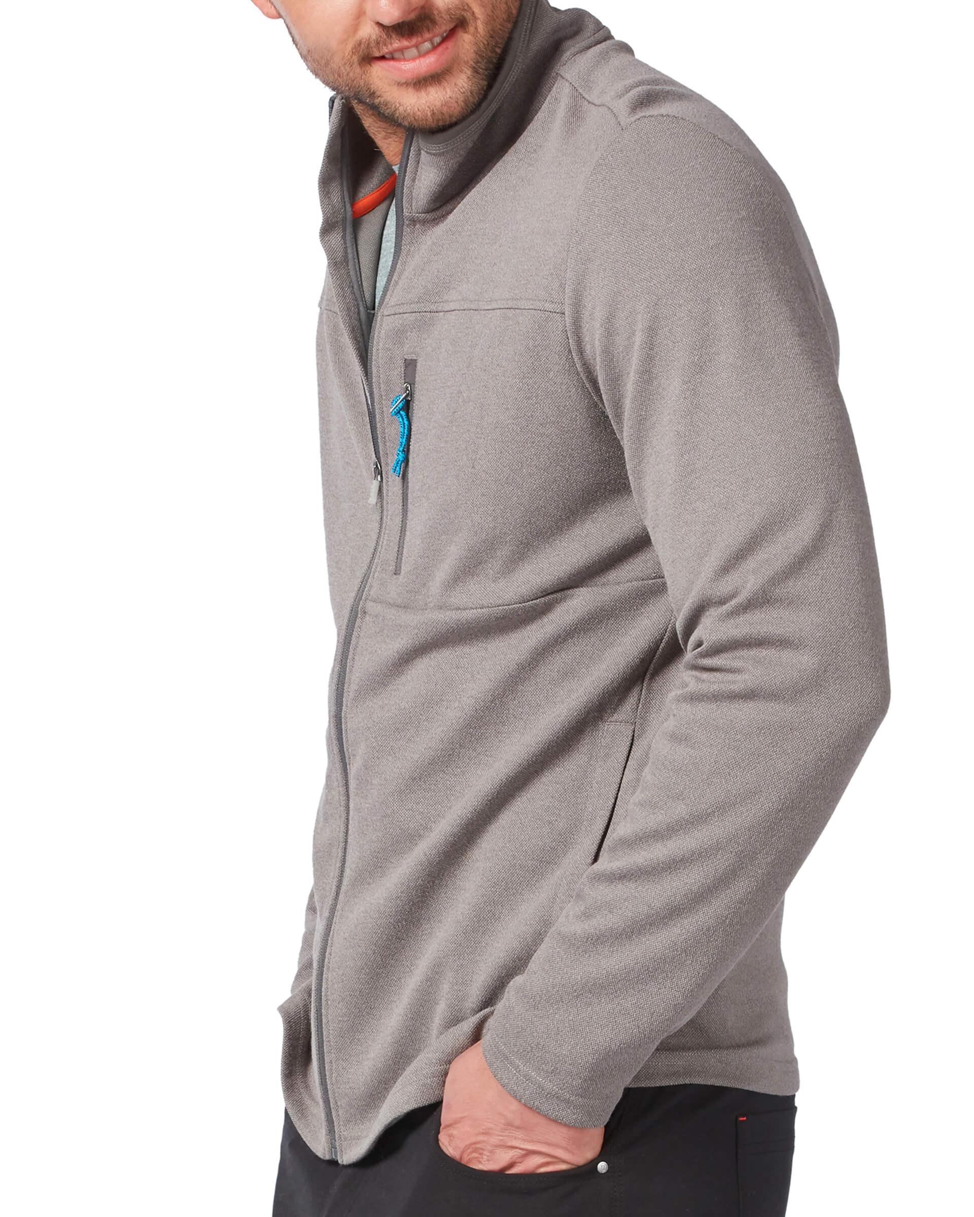 Men's FreeCycle® Double Knit Full Zip Fleece Jacket