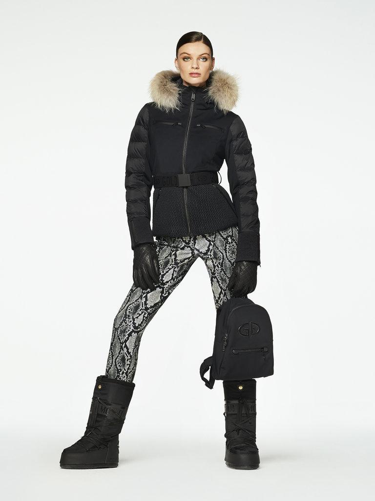 Women's Stylish Fur Ski Jacket