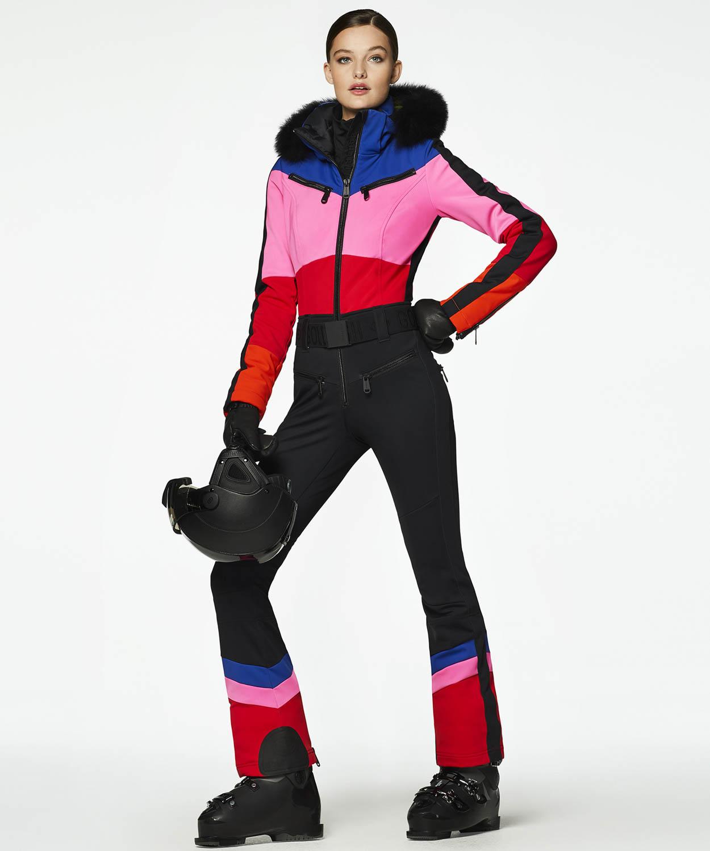 Women's Pearl Fur Ski Suit sale