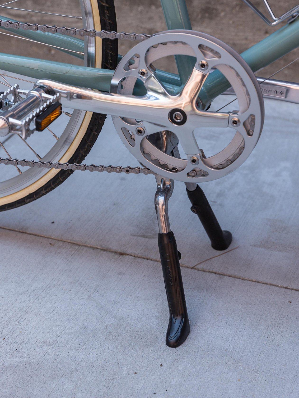 Dual Leg Kickstand, Silver