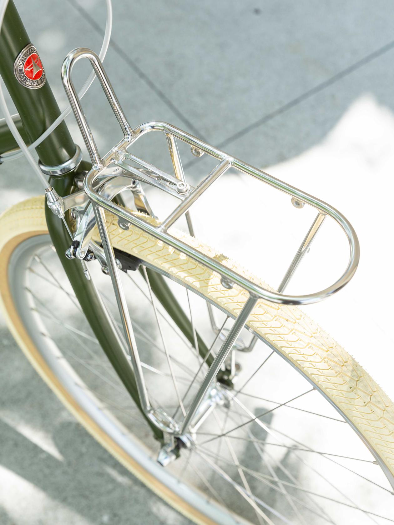 Constructeur Front Rack, Silver