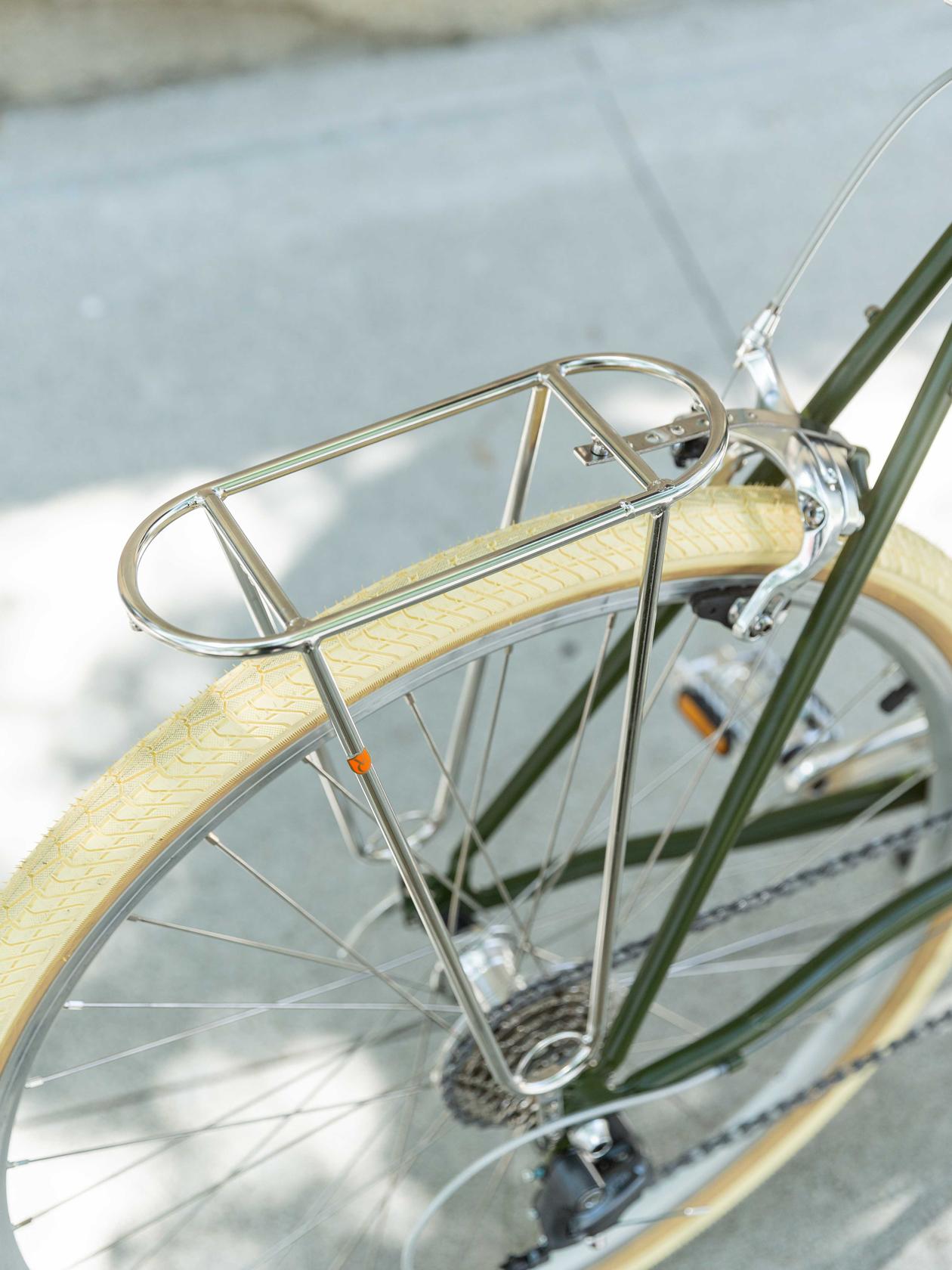 Constructeur Rear Rack, Silver