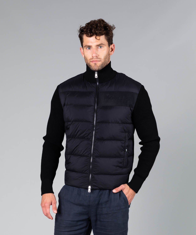 Men's Down Wool Hybrid Jacket