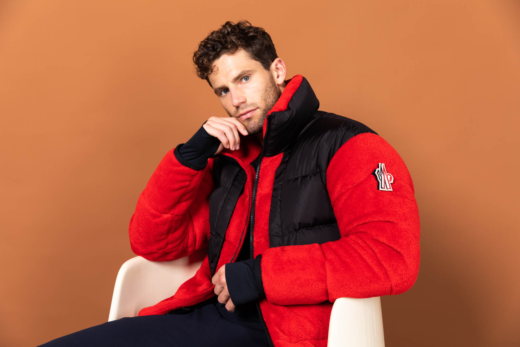 Men's Padded Down Apres Jacket