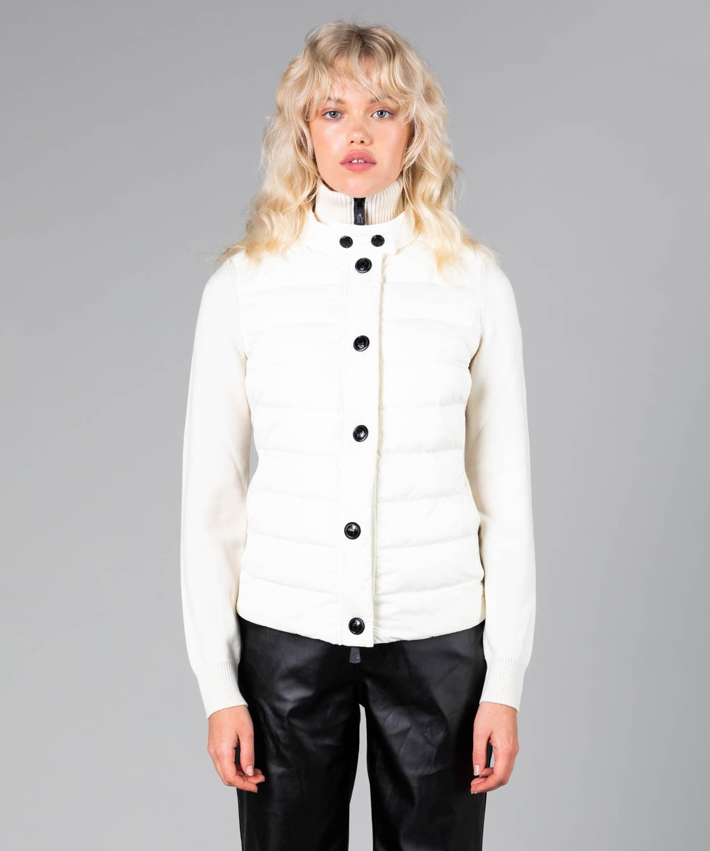 Womens Down Wool Hybrid Cardigan
