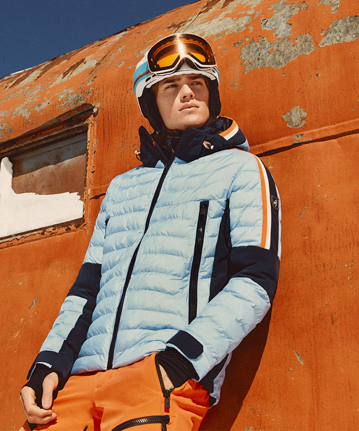 Men's Glyn Two-Tone Ski Jacket