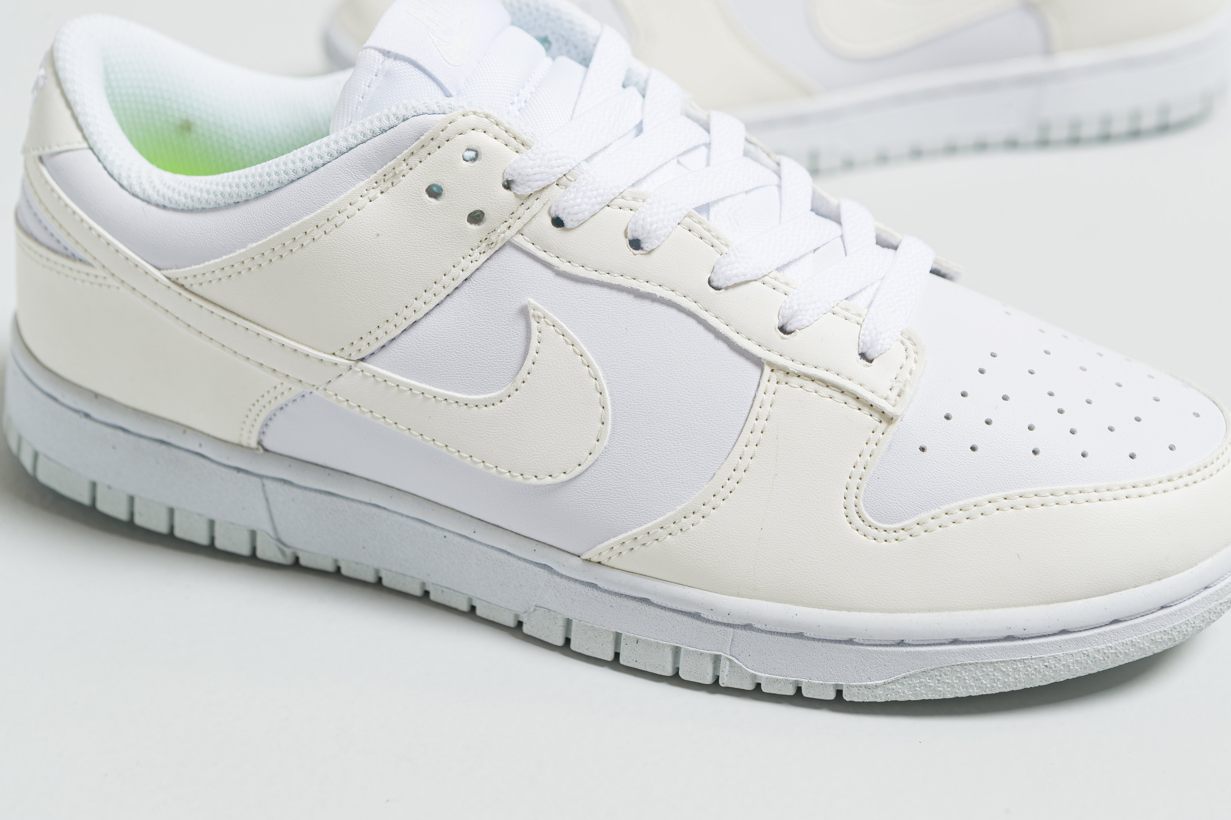 Nike - Womens Dunk Low Next Nature - White/Sail - Up There