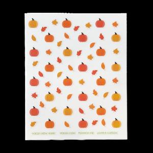 Pumpkin Nail Art Stickers