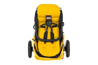 superleicht mit 9 kg, mit der kompaktesten Grundfläche für einen Buggy terrain