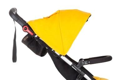 Hervorragender UPF50+ Schutz durch Sonnenhaube