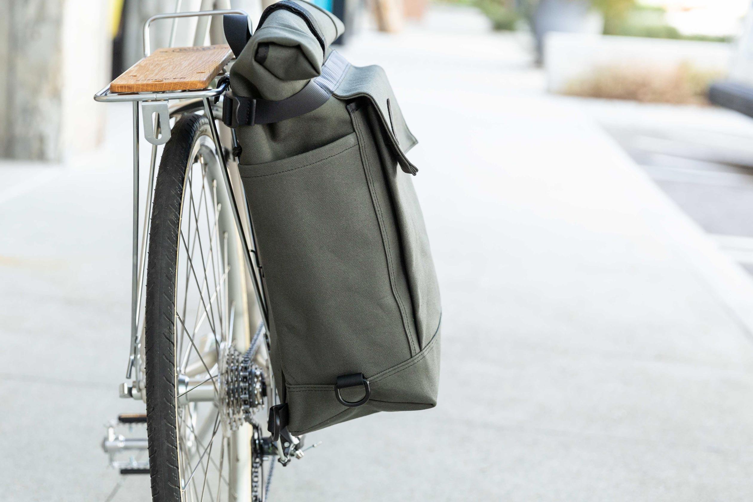 2 Way Backpack / Pannier, Olive
