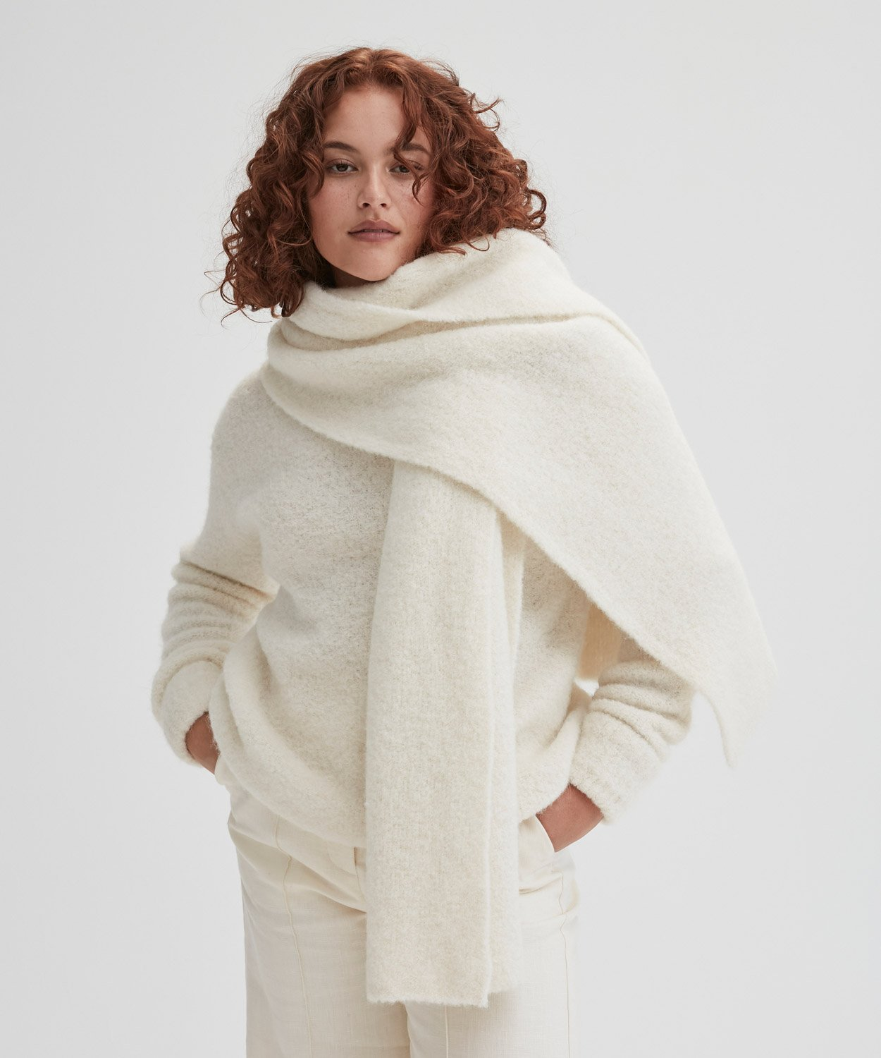 The Alfie Knit Scarf
