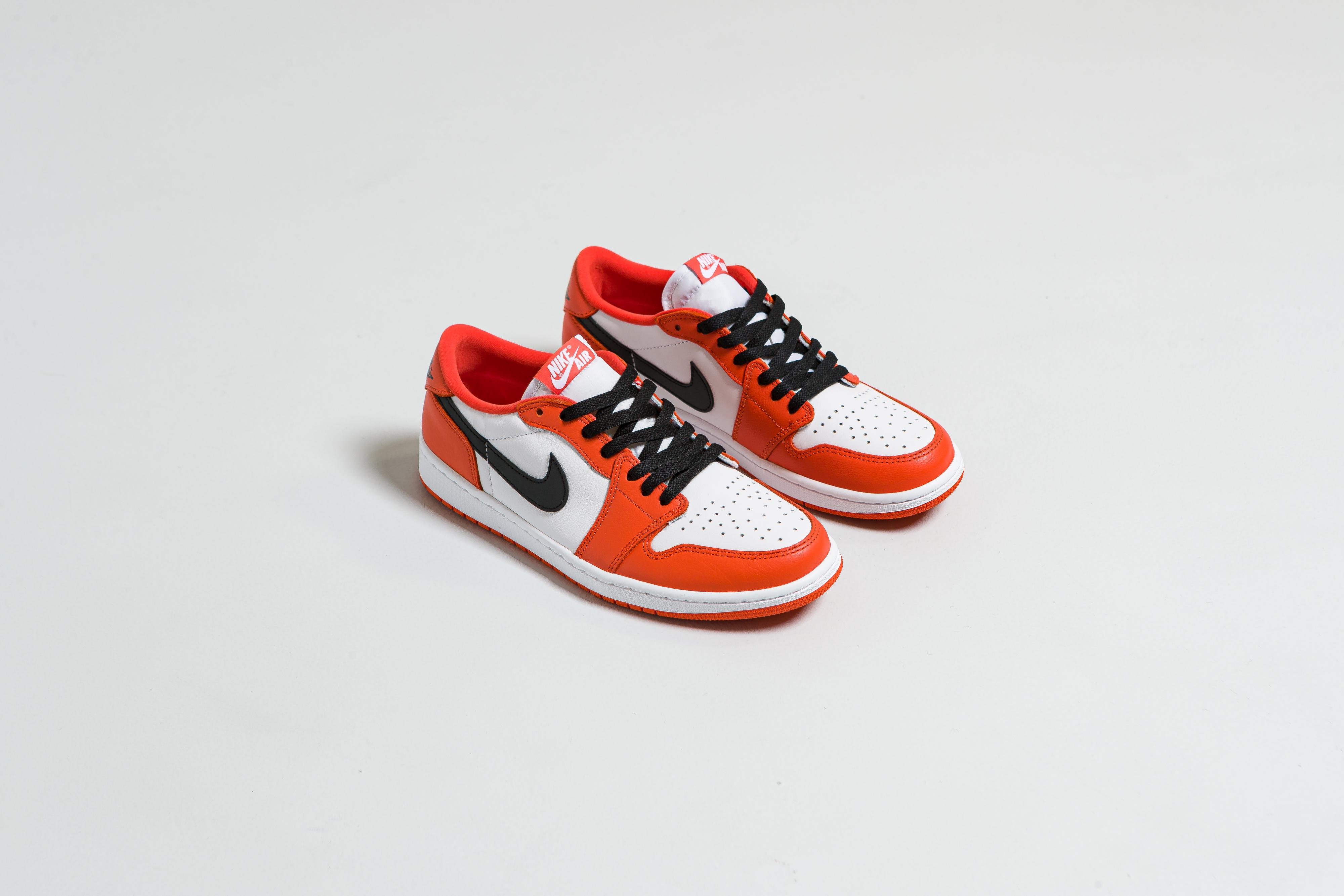 Jordan - Air Jordan 1 Low OG - Orange/Black-White - Up There