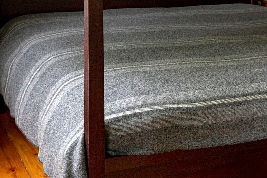 image of King-Size Cabin Wool Blanket