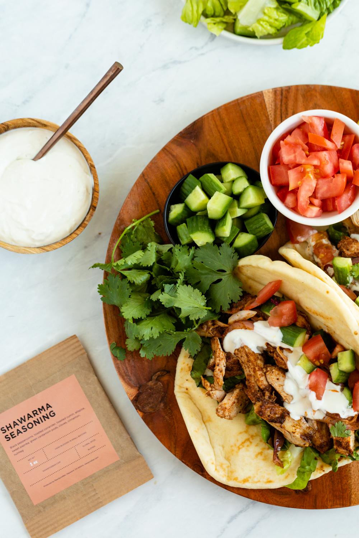 July: Shawarma