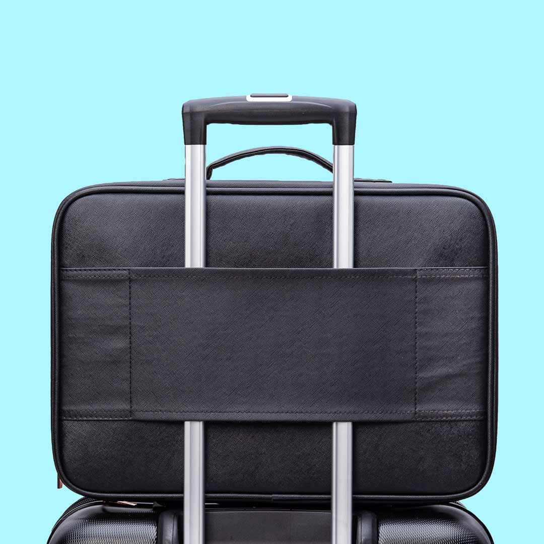Madison makeup train case for travel luggage trolley sleeve