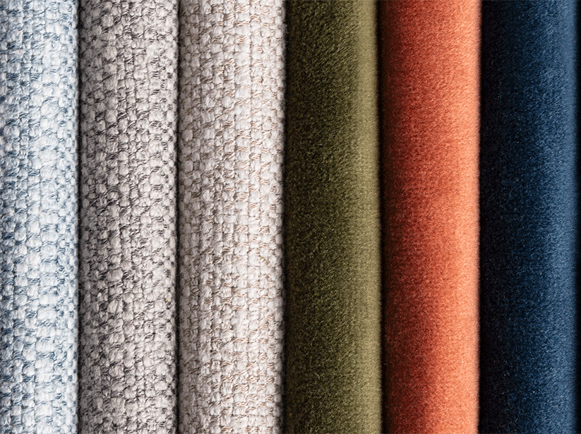 Close up of Swatch Materials