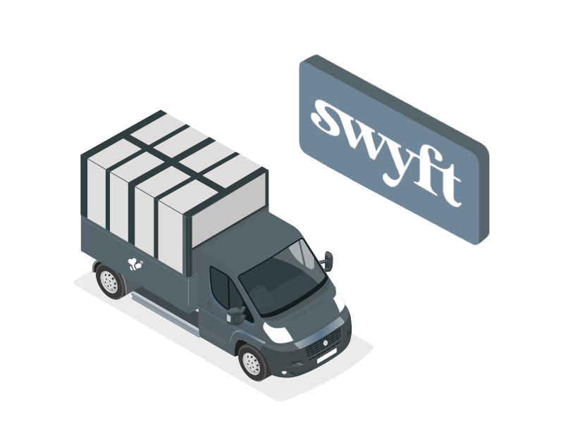 Swyft and clearbee delivery icon