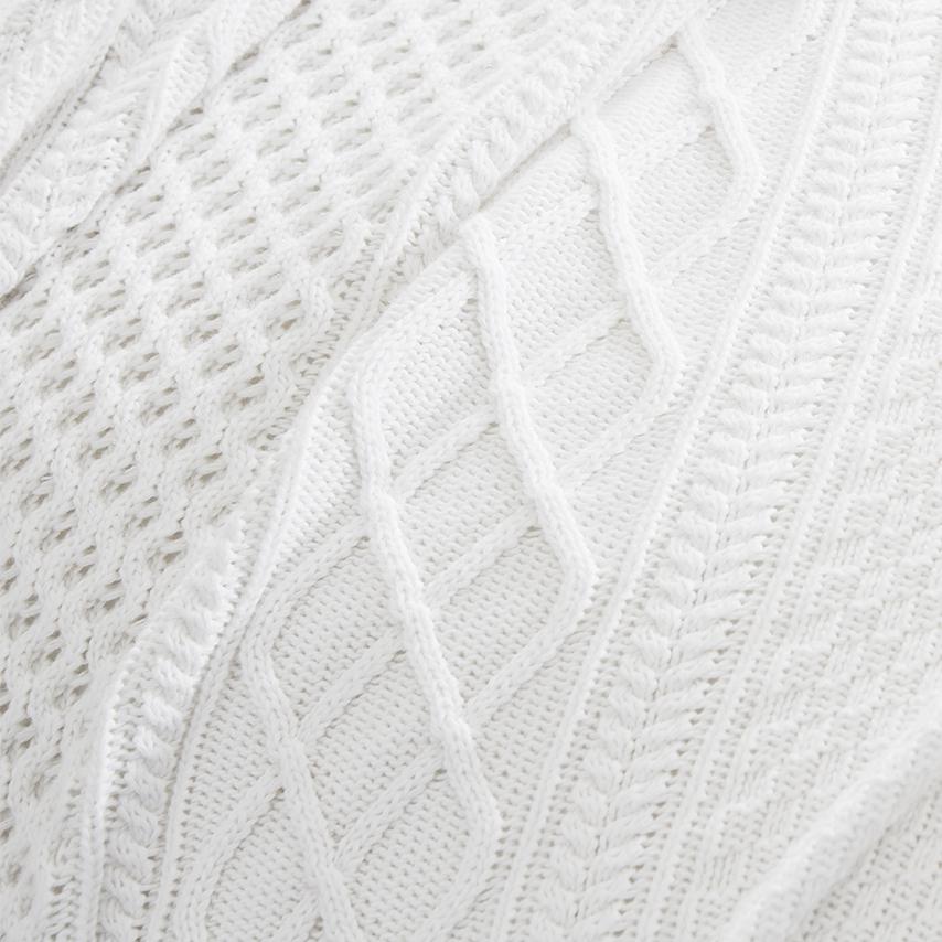 Aran Knit Bed Blanket