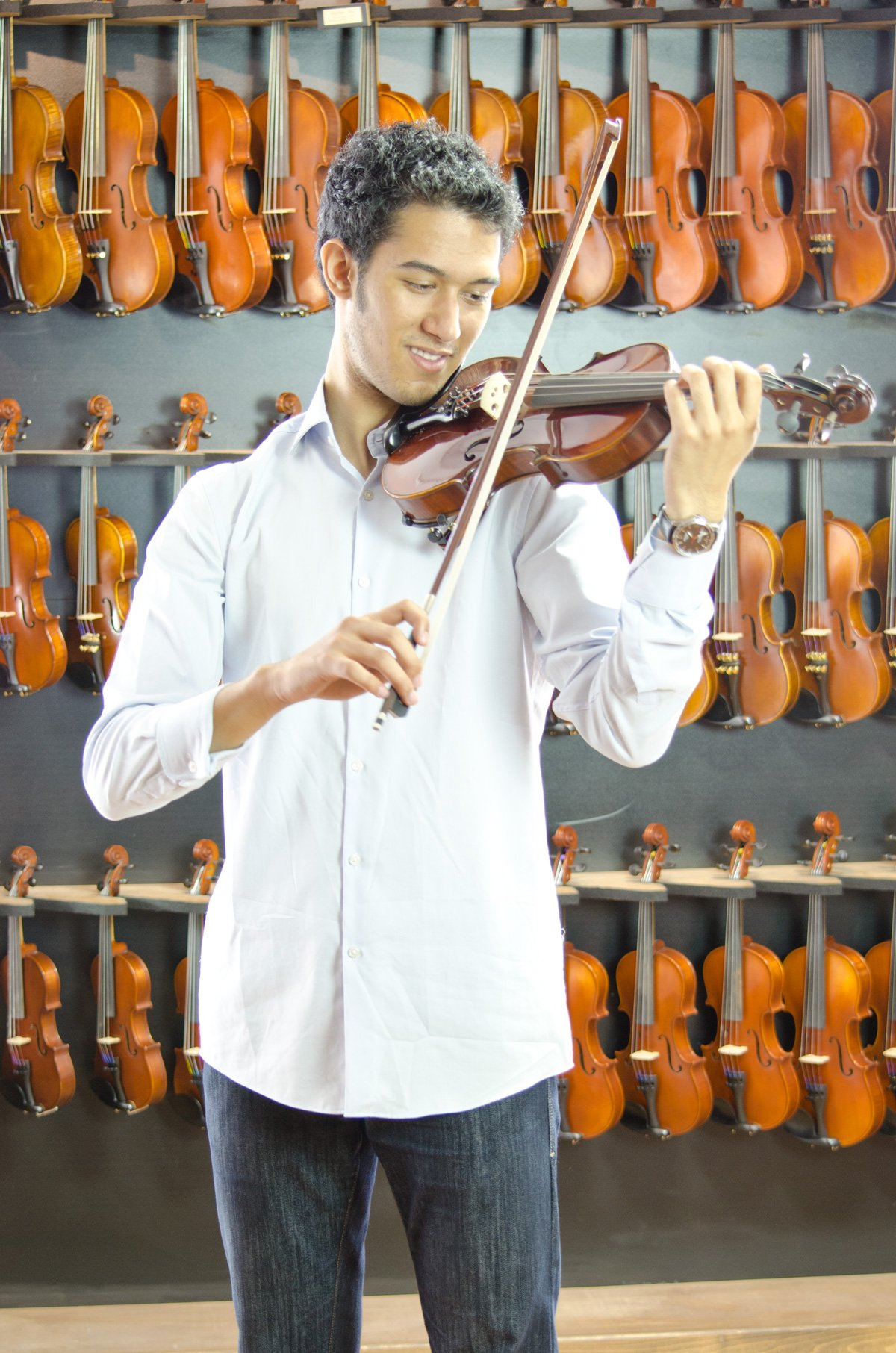 CLEARANCE Antonio Giuliani Etude Viola Outfit in action