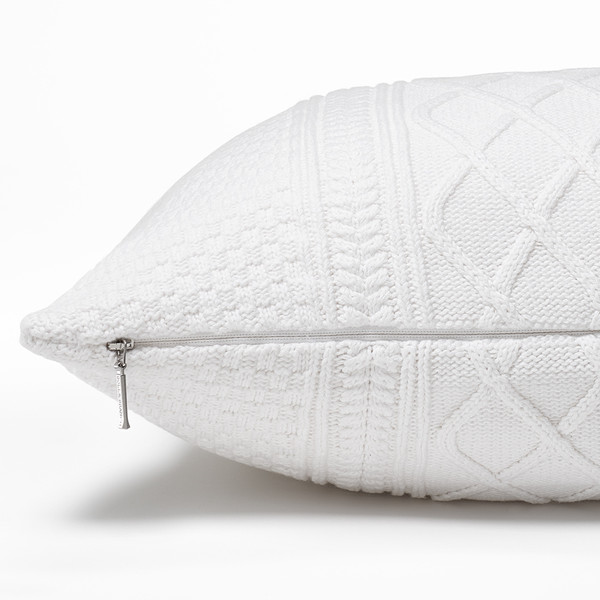 Aran Knit Pillow Cover