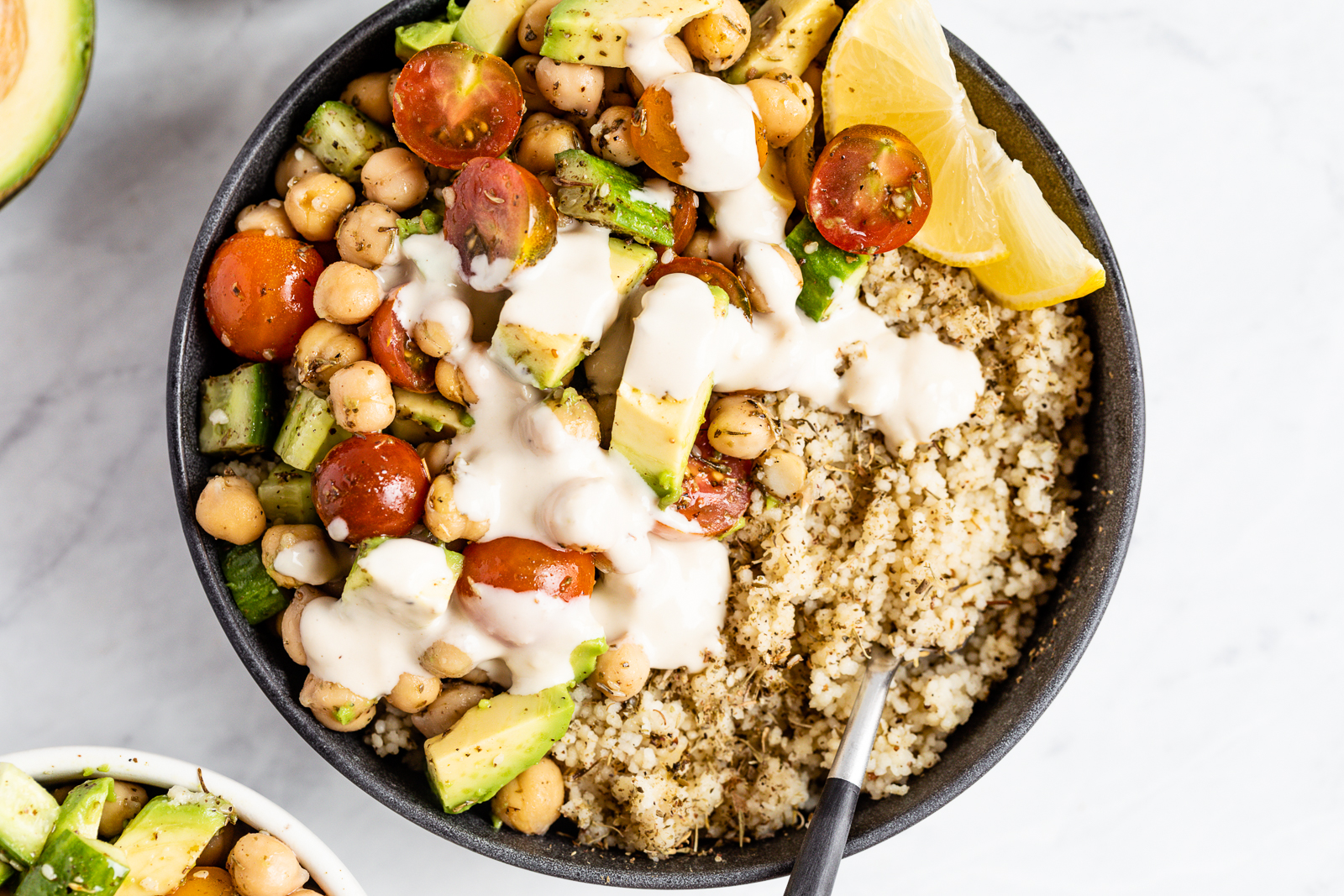 August: Za'atar Grain Bowls