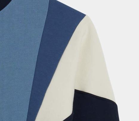 Royal Blue / Cream Tavis Sweatshirt