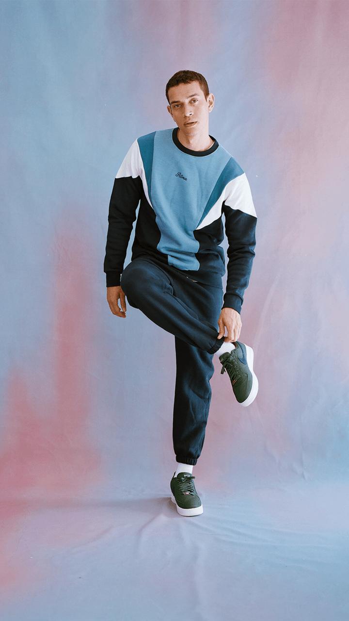 Blue Tavis Sweatshirt
