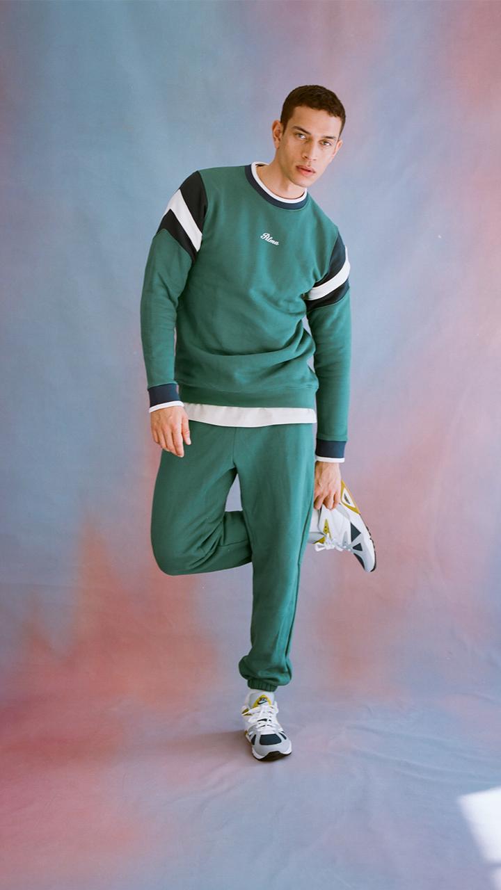 Storm Green Latu Sweatshirt