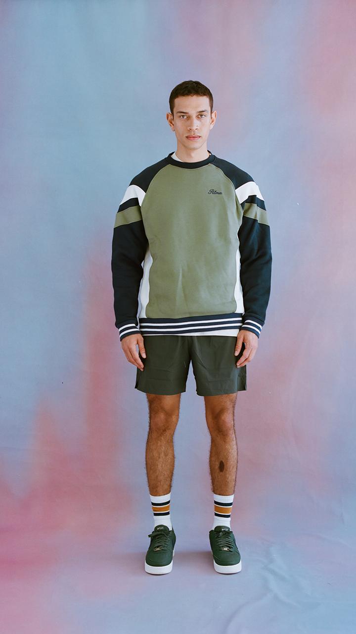 Khaki Green Peli Sweatshirt