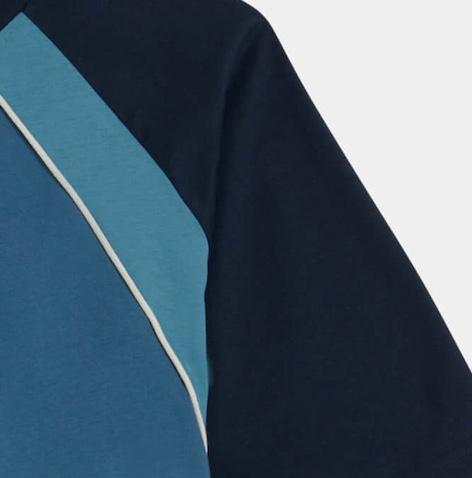 Navy Blue / Rose Kade T-Shirt