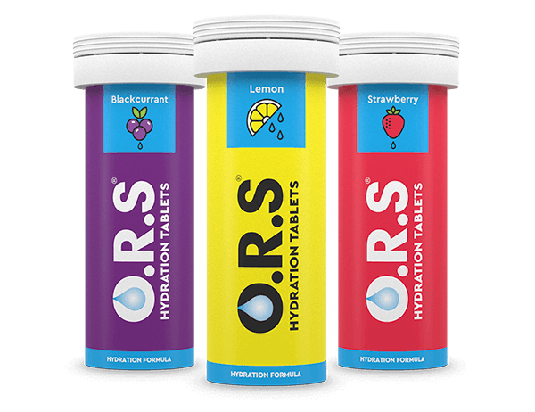 O.R.S Hydration Tablets - Tubes of 24