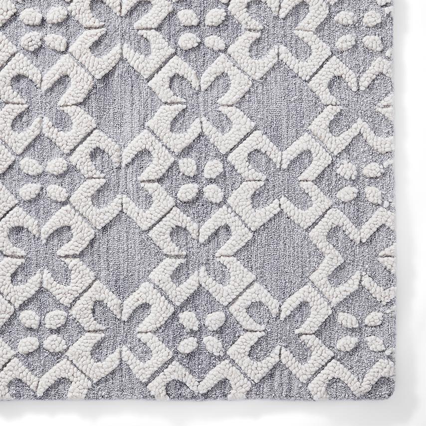 Cotton Tile Rug