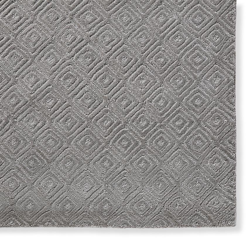Sculpted Diamond Rug
