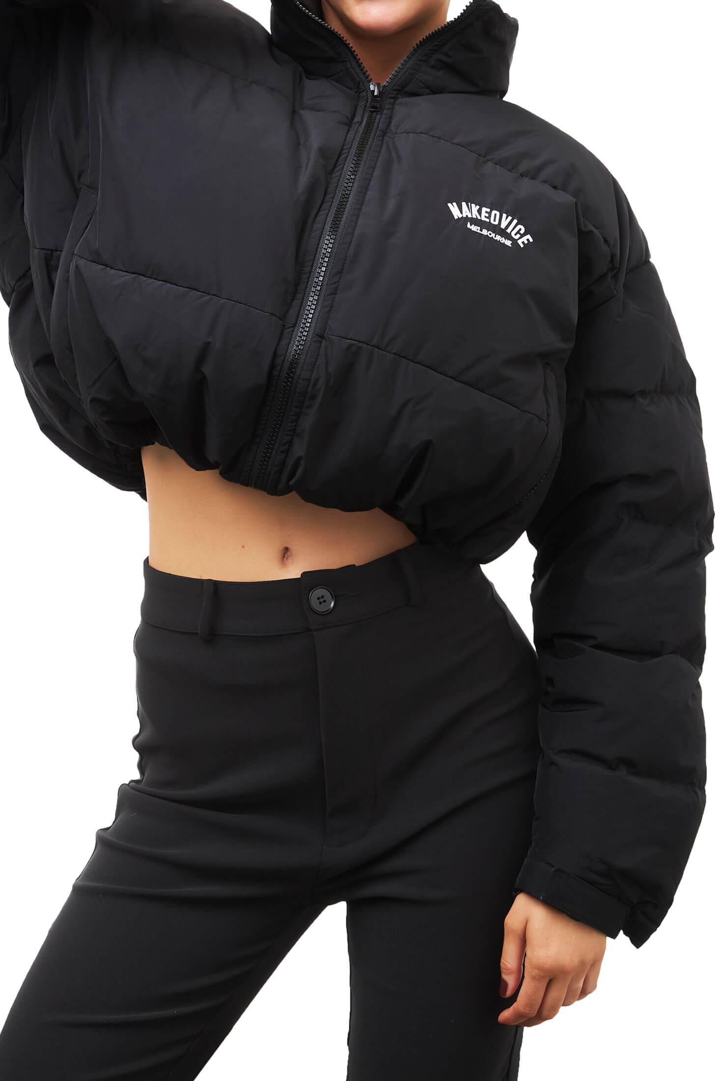 THE CROPPED PUFFER JACKET