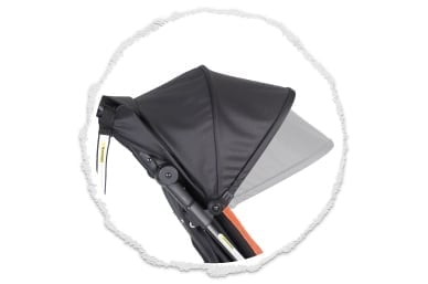 gran UPF50+ protección de la capucha del sol