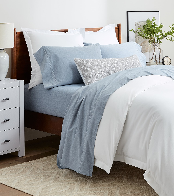 Organic Chambray Pillowcase Set | Boll & Branch®