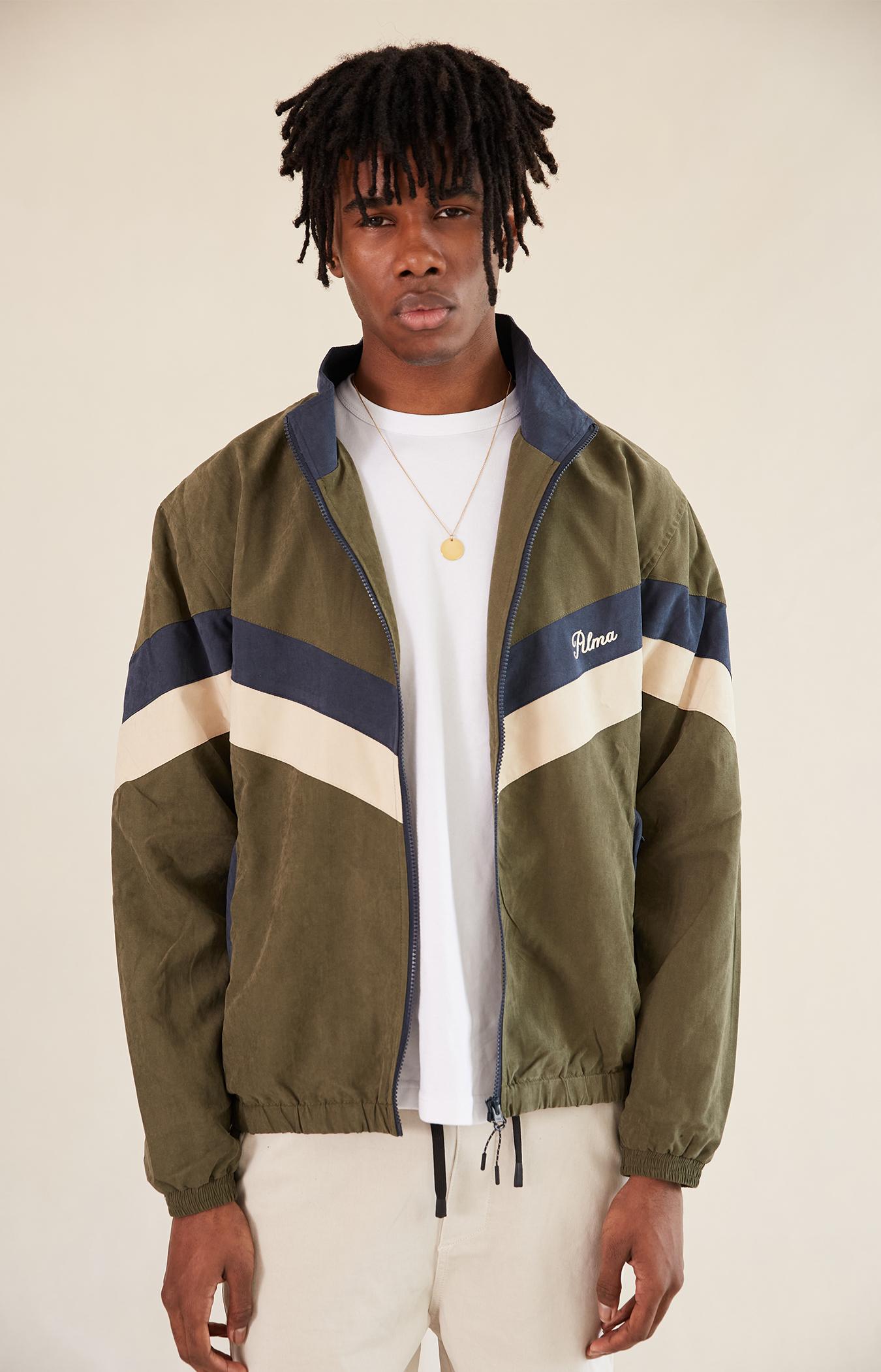 Khaki Calder Track Jacket