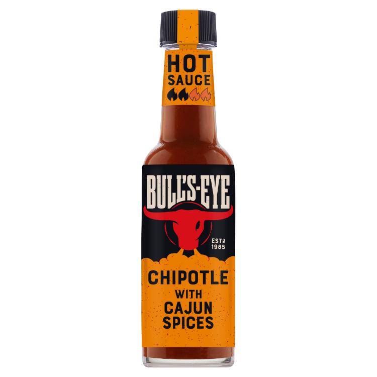 Photograph of 1 x Bulls Eye Medium Hot Chipotle Sauce 150G product