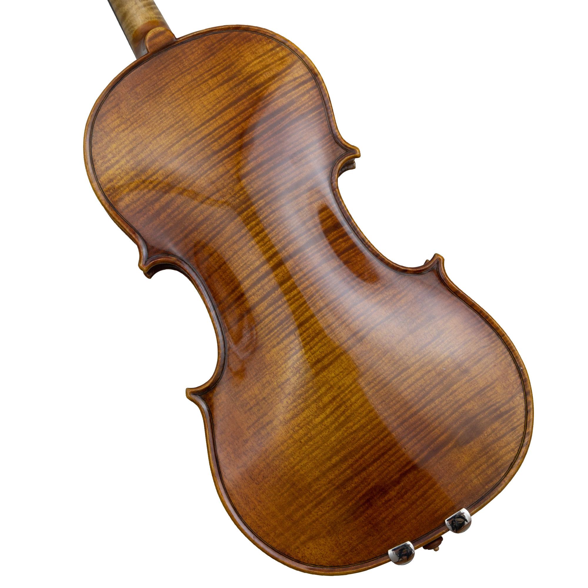 Kremona Studio Hristo Nikolov Stradivari Violin 2013 in action