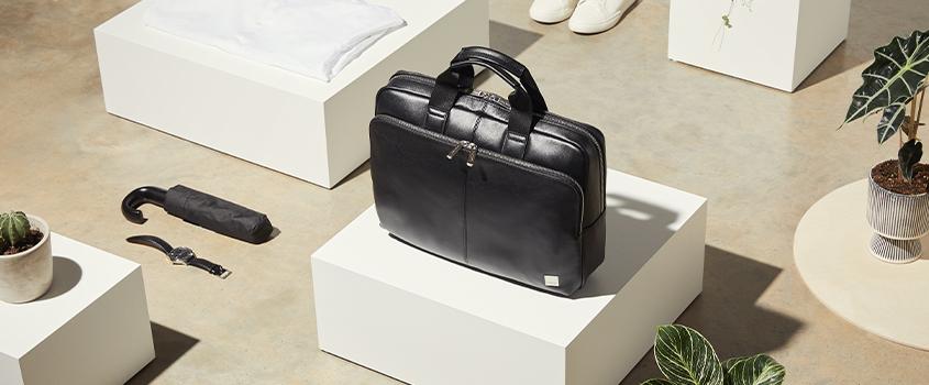 KNOMO Men's Leather Bags Category Image | knomo.com
