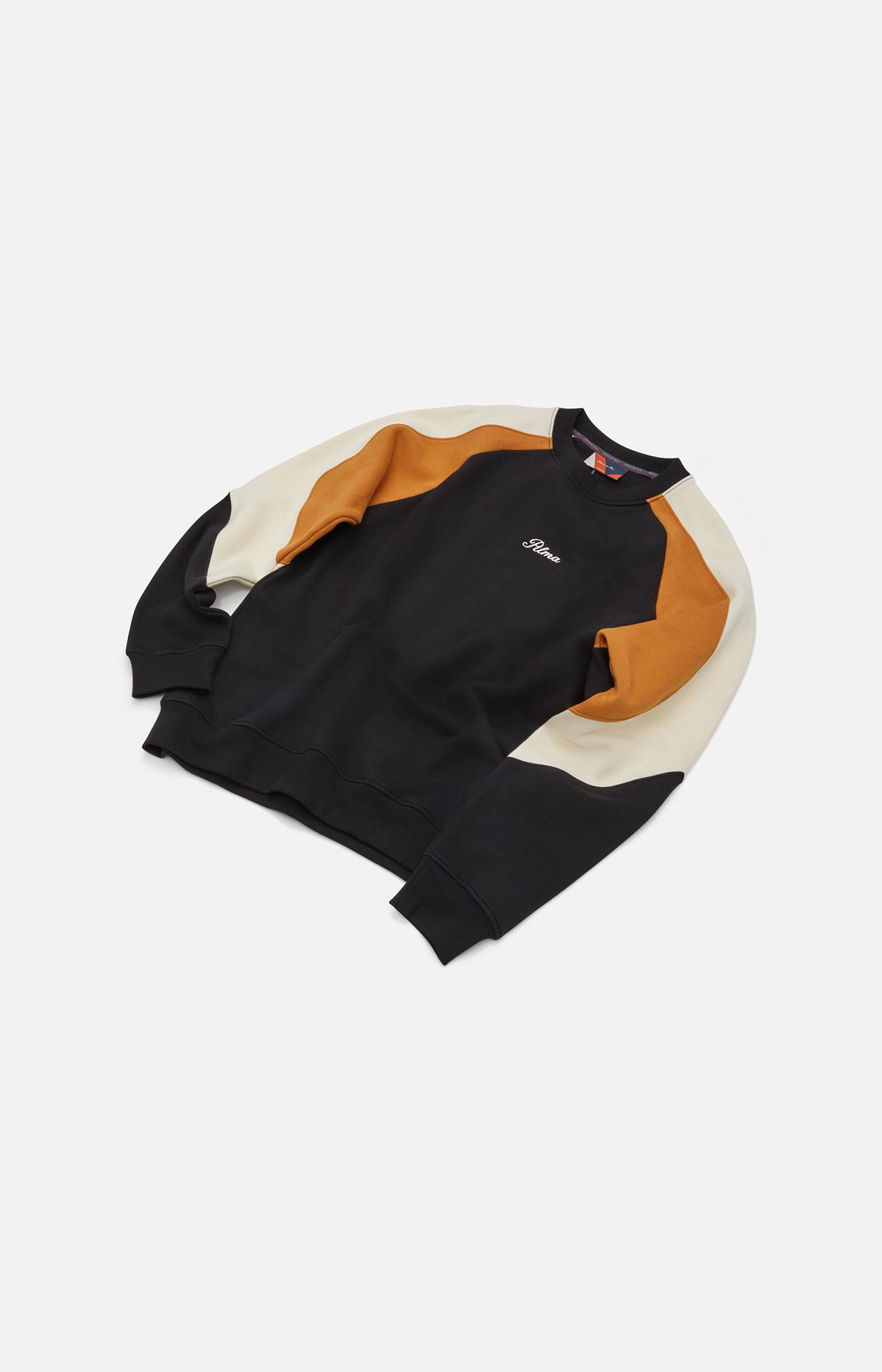 Black / Mustard  Parvis Sweatshirt