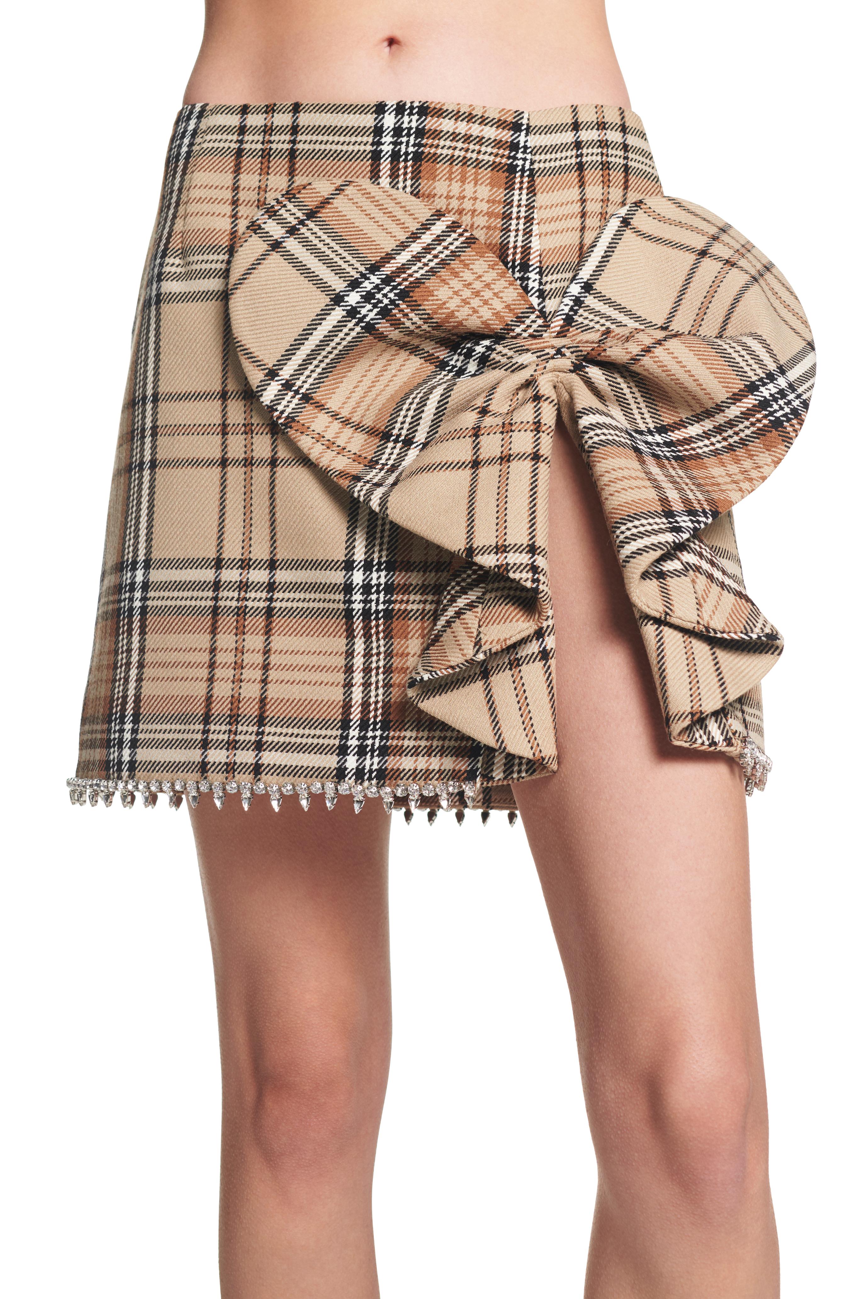 Heart Bow Mini Skirt