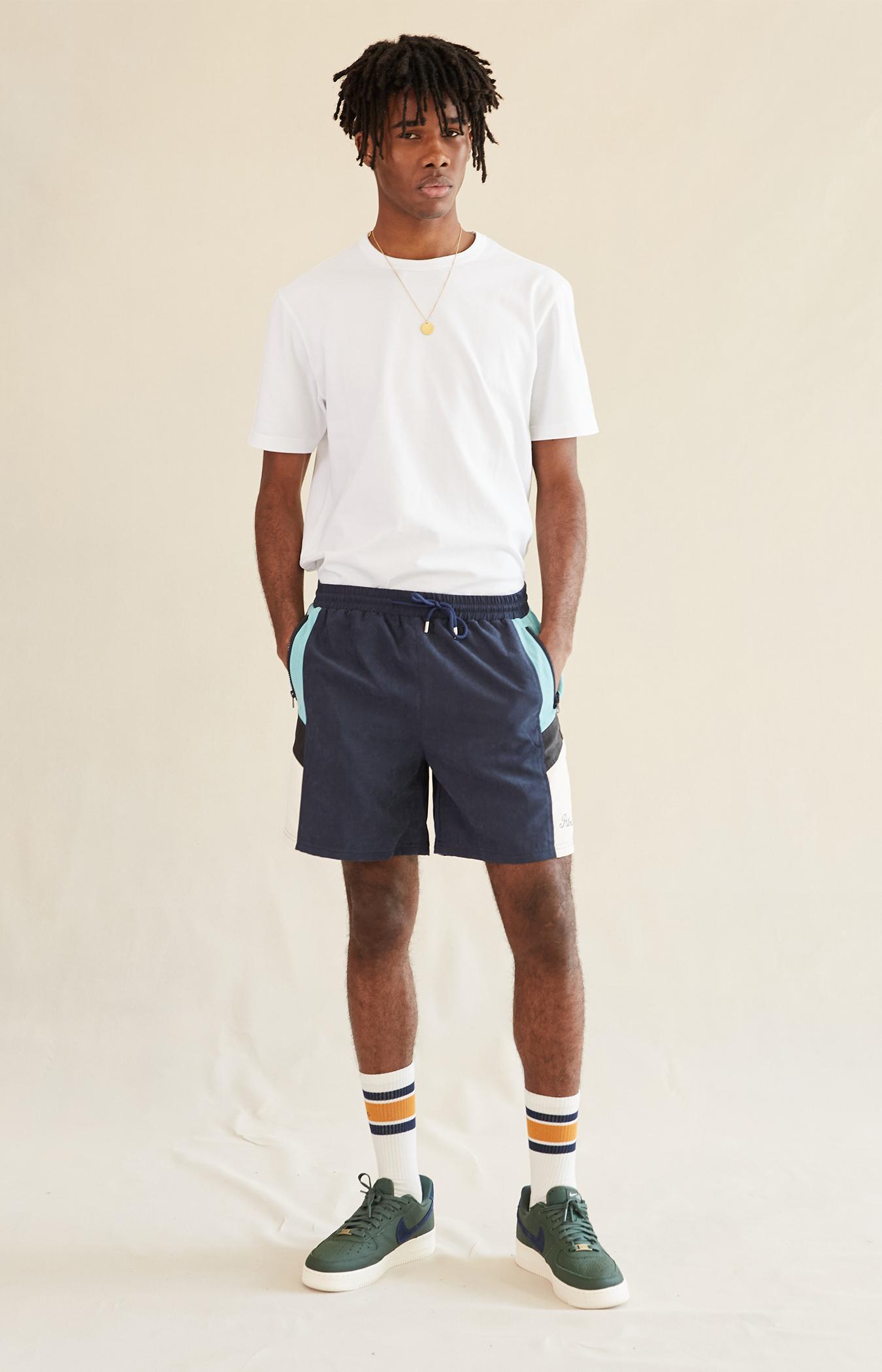 Navy Blue Belva Shorts