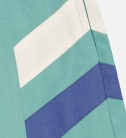 Indigo Twin Stripe Shorts