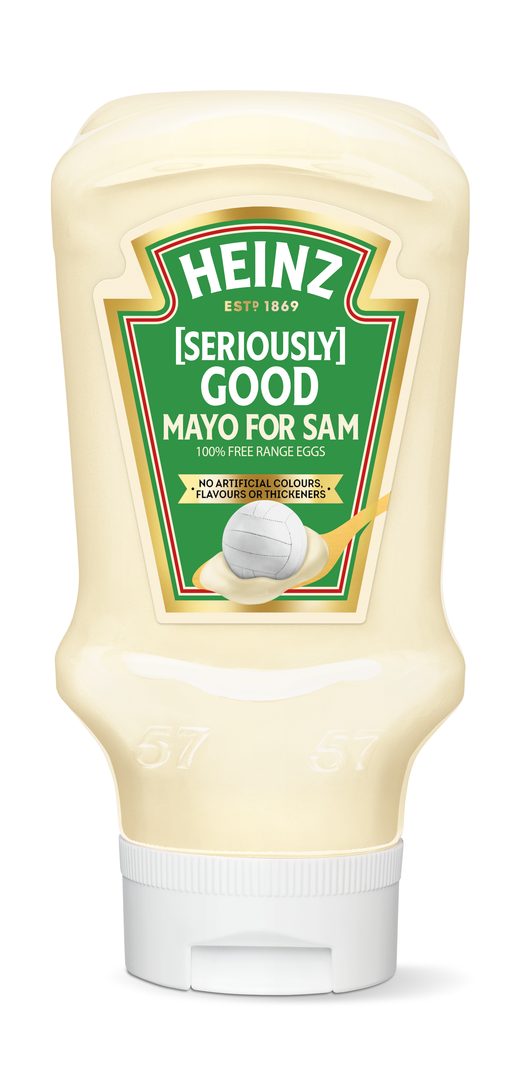 Photograph of Heinz [Seriously] Good Mayonnaise product