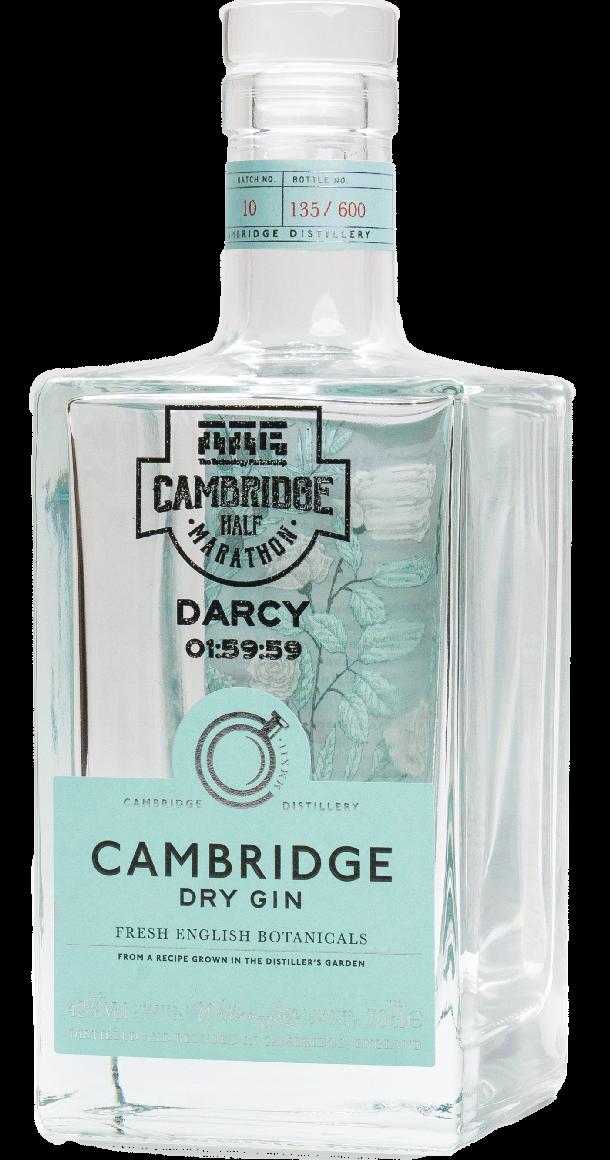 Cambridge Dry Gin 2021 Half-Marathon Edition