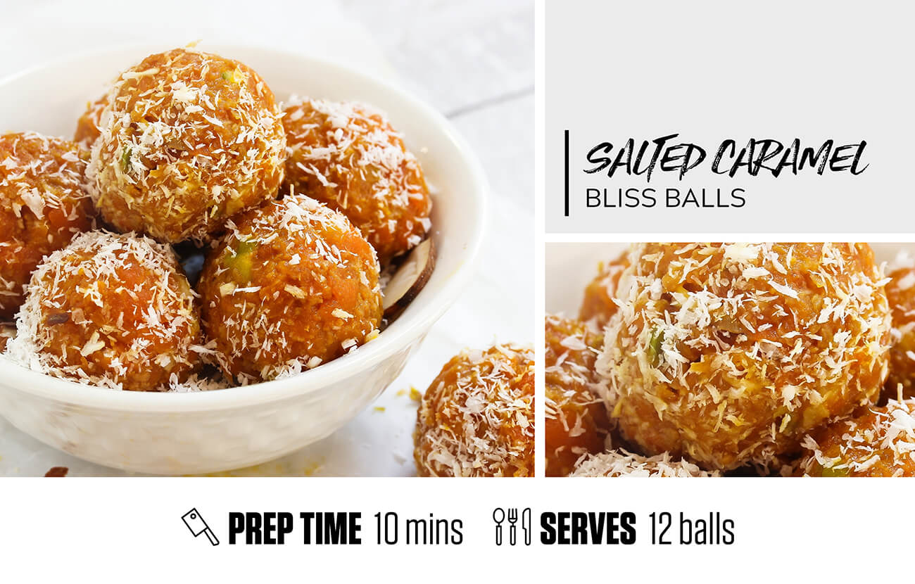 Salted Caramel Bliss Balls
